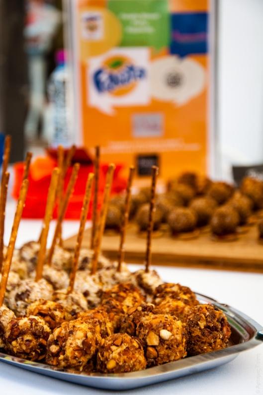 Cheddar Truffles and Feta Truffles